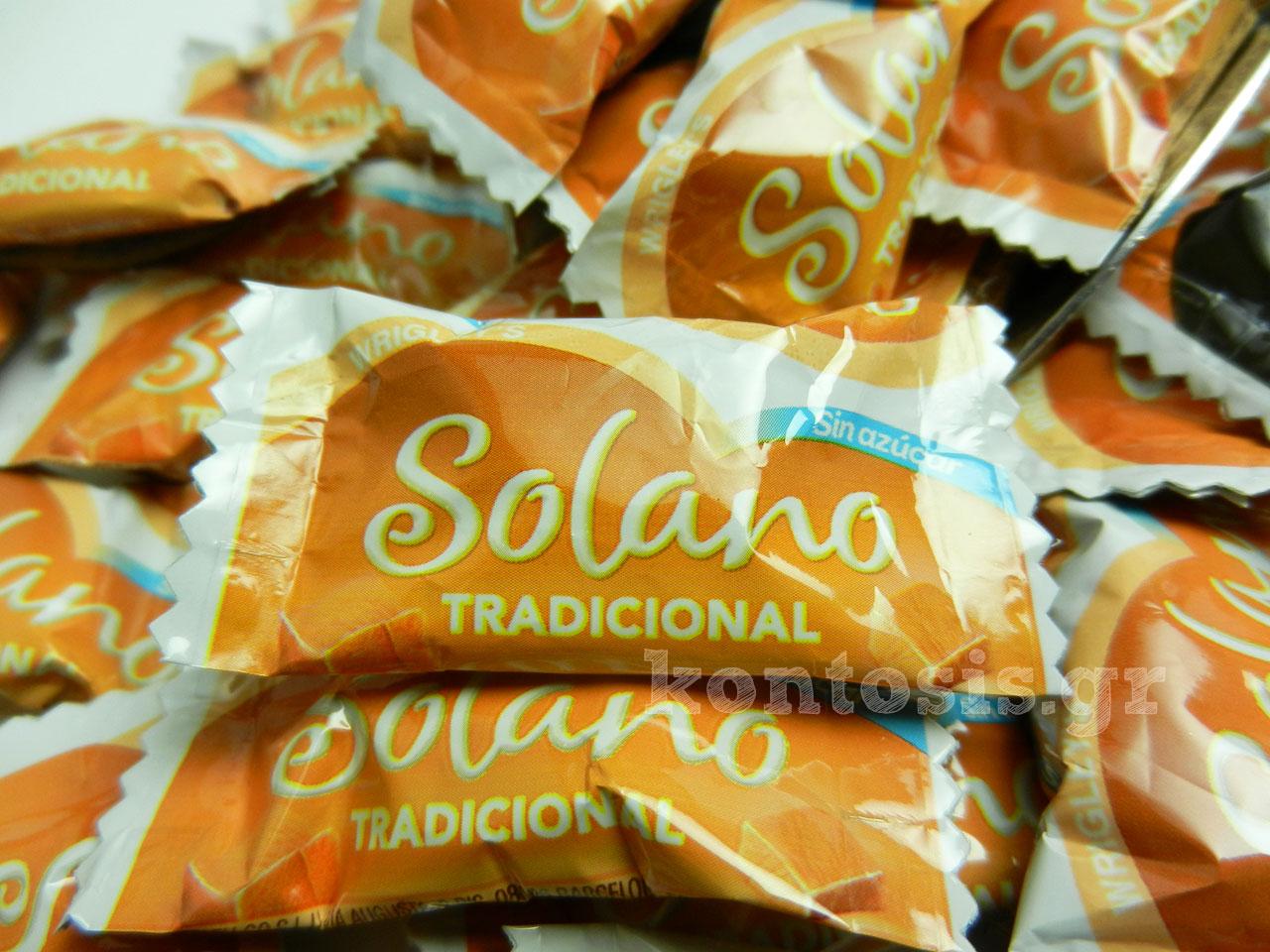 Καραμέλες βουτύρου χωρίς ζάχαρη solano