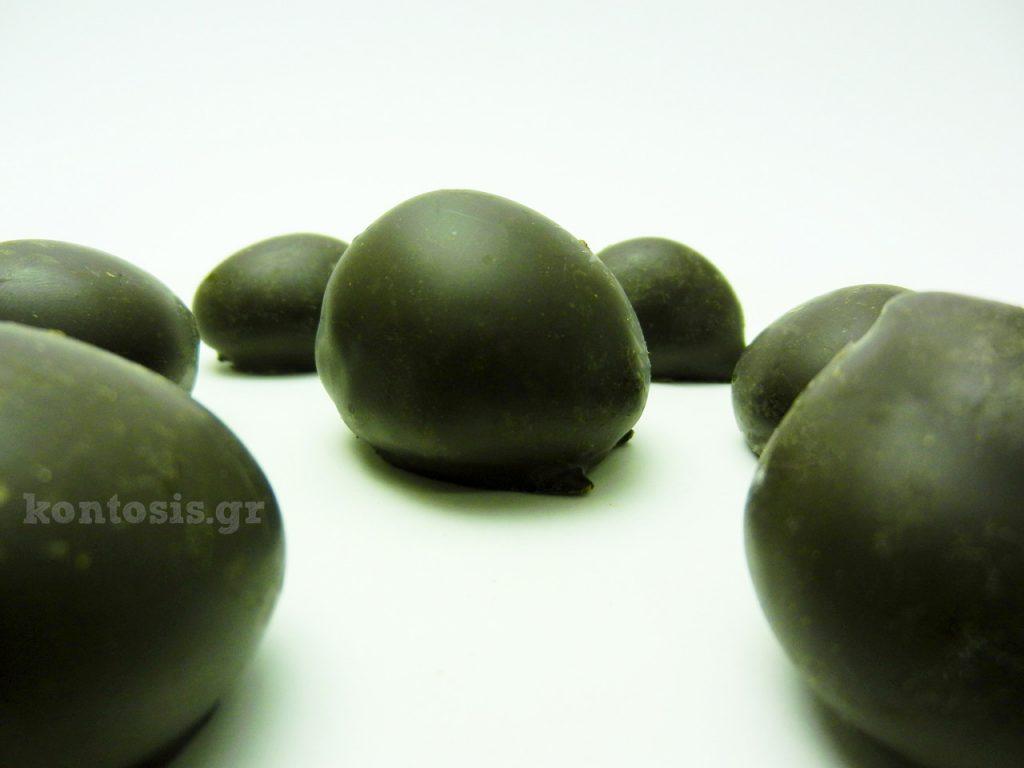 σοκολατάκια με γέμιση κάστανο