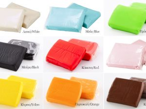 Sugar paste variety of colors