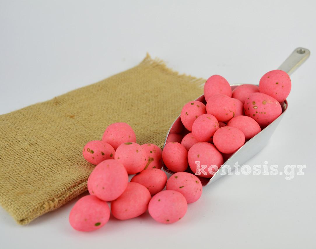 Βότσαλο Χατζηγιαννάκης Ρόδος με ολόκληρη σιροπιαστή φράουλα & σοκολάτα γάλακτος