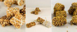 νηστίσιμα nistisima μπάρες δημητριακών, ξηρών καρπών και παστέλια