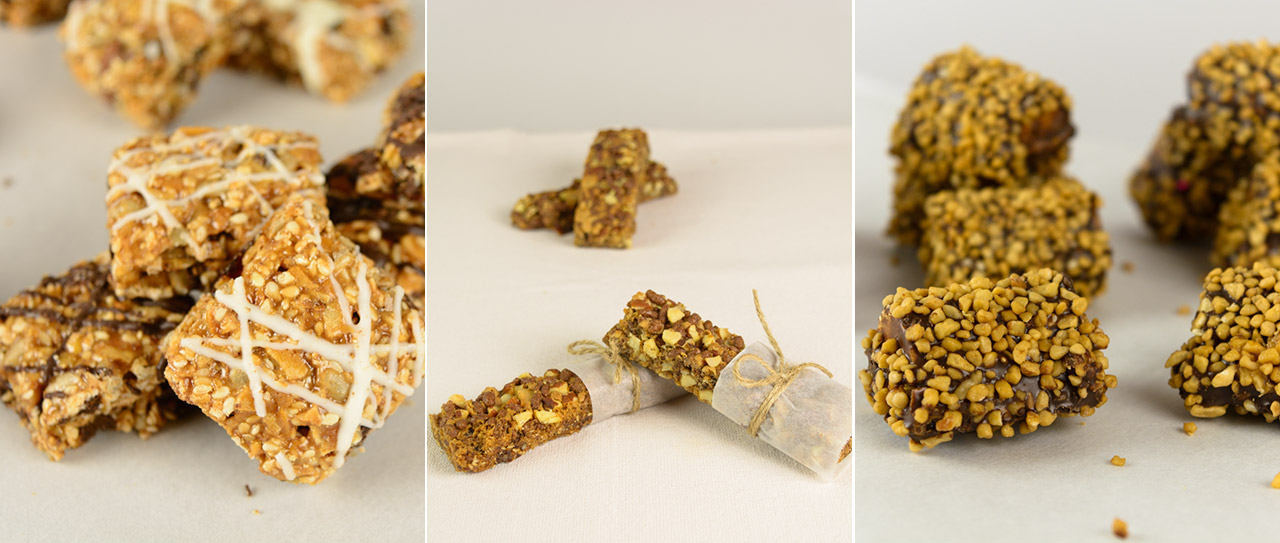 nistisima νηστίσιμα μπάρες δημητριακών και ξηρών καρπών
