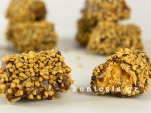 νηστίσιμα σοκολάτα φυστικοβούτυρο nistisimes folitses sokolata fistikovoutiro