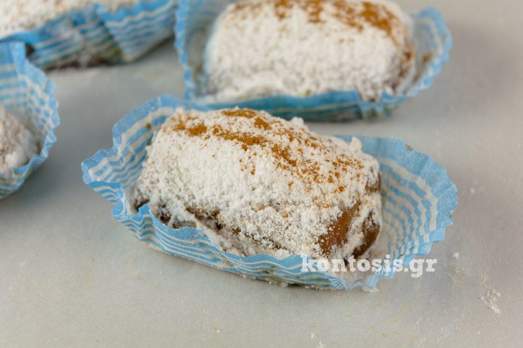 νηστίσιμα γλυκά rolaki milo kanela nistisima