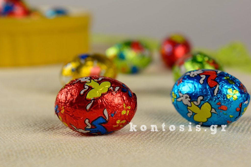 σοκολατάκια αβγά sokolatakia avga