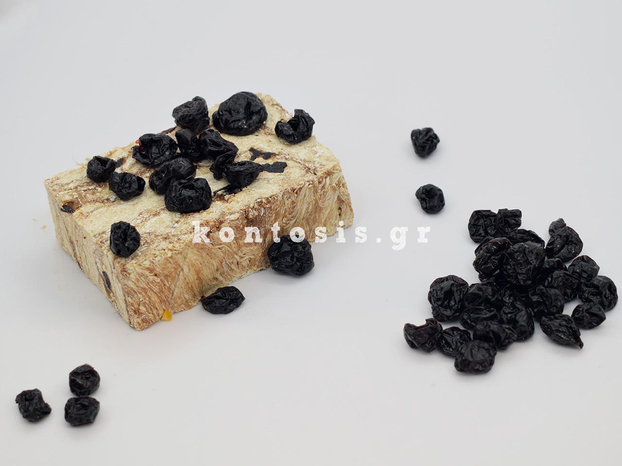 aradosiakos xalvas Kyrgion Dramas kouvertoura ygeias sour cherry