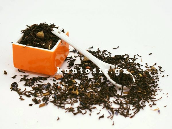 Flavored Black Tea Οh! My Gold, fruits and gold chocholate