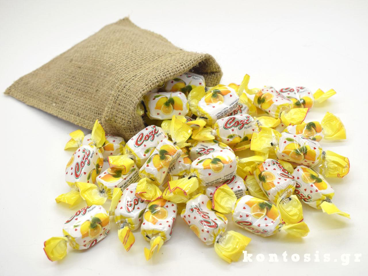 karameles soft zele gelo lemoni lemon