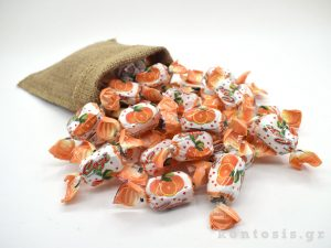 karameles soft zele gelo portokali orange