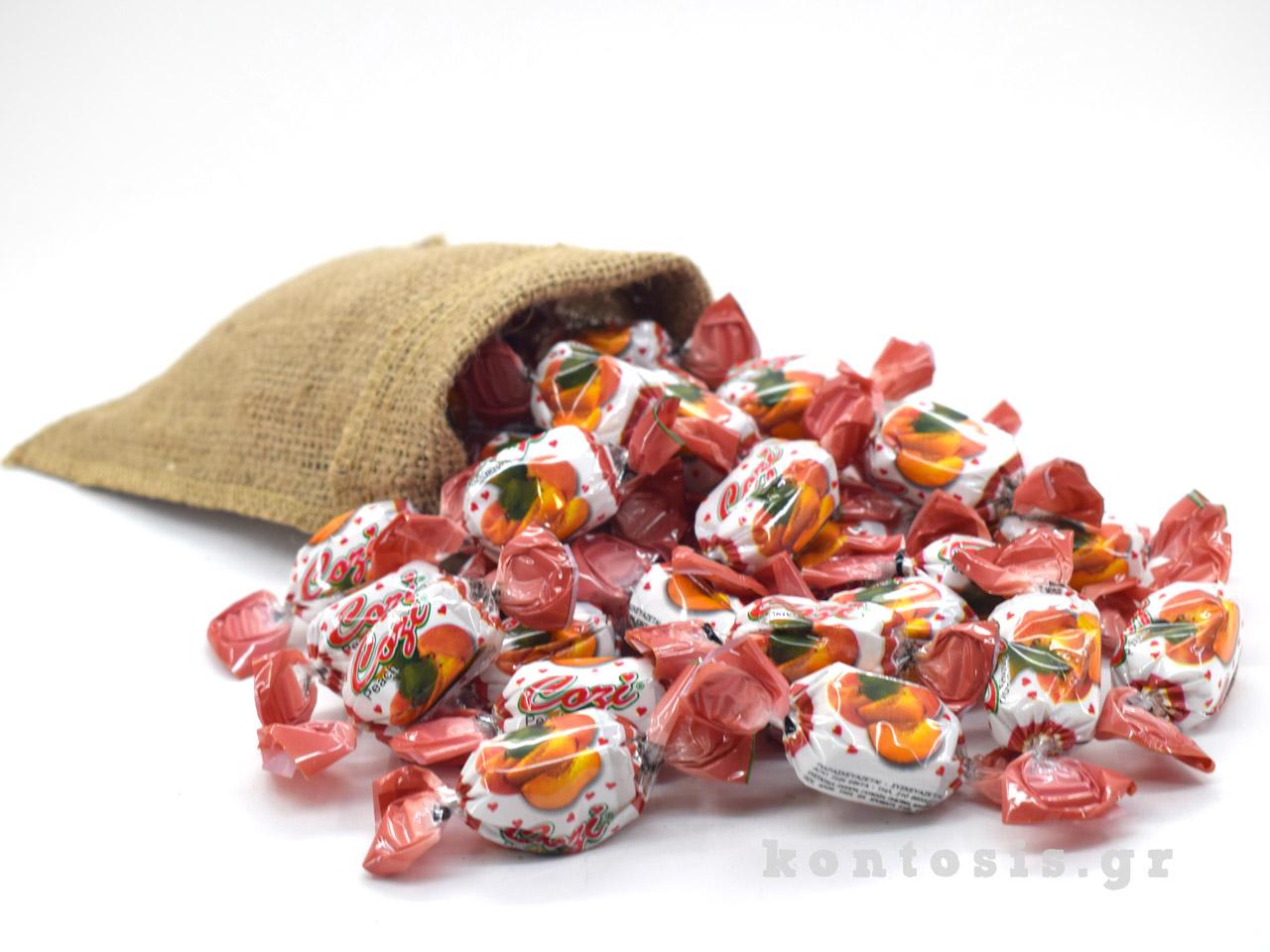 karameles soft zele gelo rodakino peach