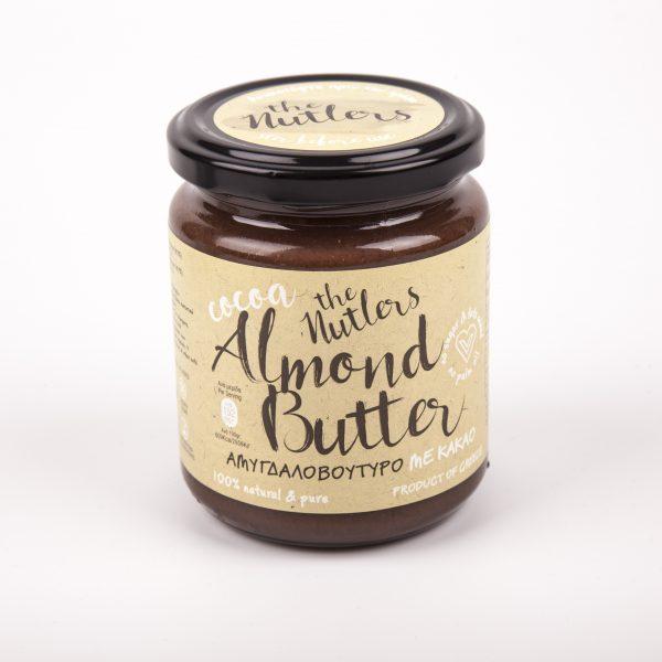 Cocoa Almond Butter-Voutiro-amigdalou-kakao-meli
