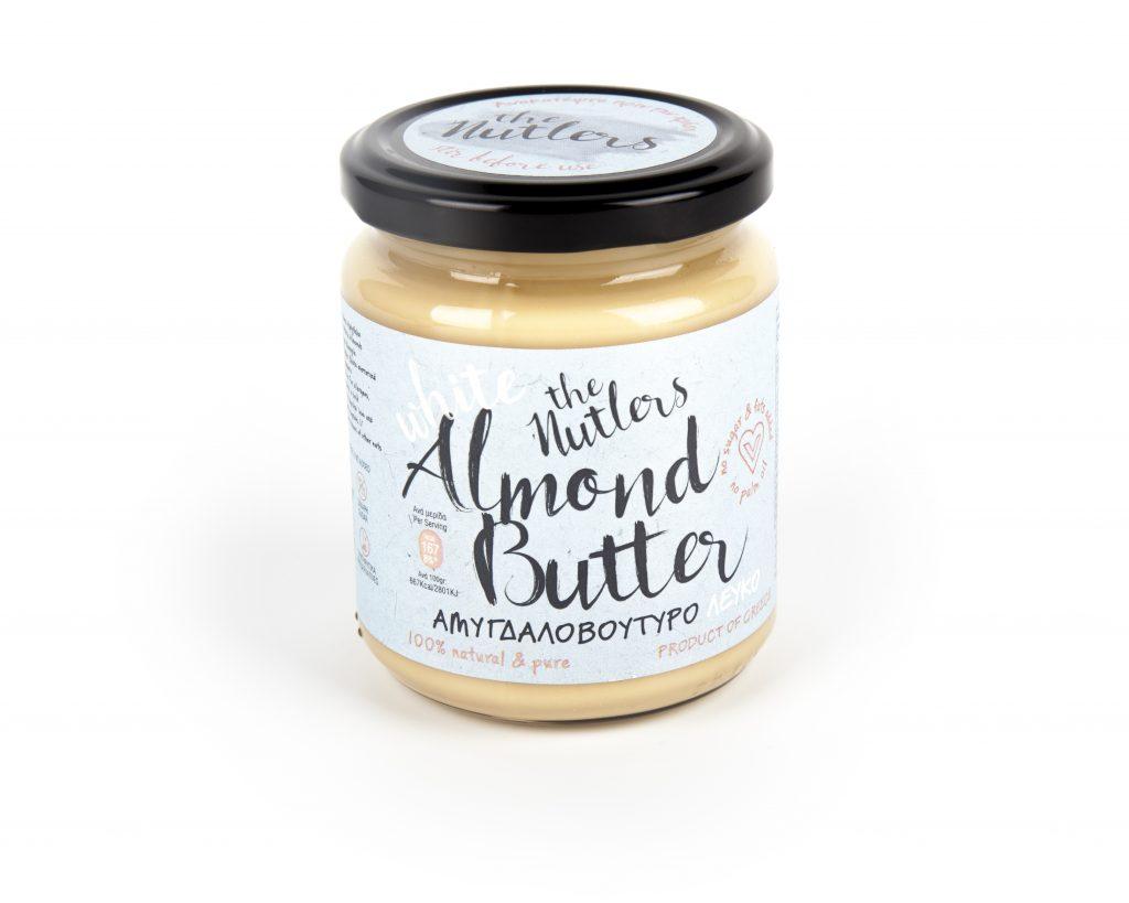 Almond white butter-voutiro lefko amigdalou