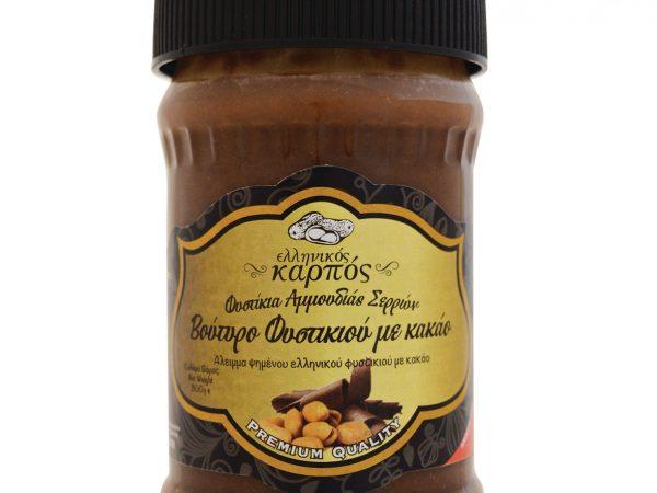 fistikovoutiro-peanut-butter-cocoa-xoris-zaxari-elliniko