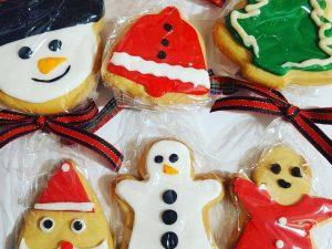 Christmas butter biscuits-biskota voutirou