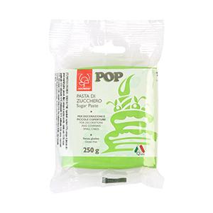 Sugar paste green-250gr-gluten free