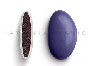 chocolate (70% cocoa) with a thin layer of sugar coating-purple